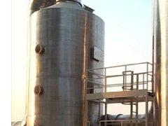 山西某公司不锈钢酸雾净化塔